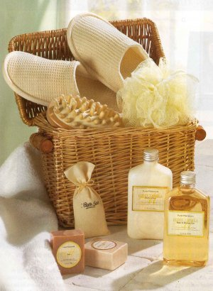 Spa in a Basket