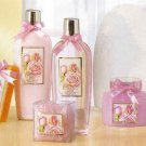Purple Rose Scented Bath Set