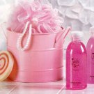 Pink Bath Bucket Set