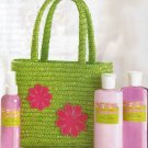 Hip Green Tote Bag Bath Set