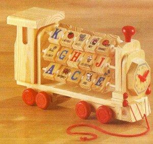 Alphabet Blocks Train