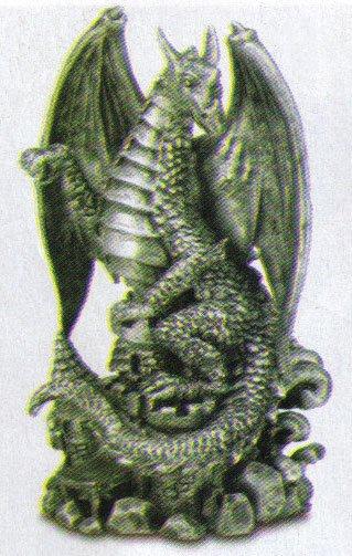 Fierce Black Dragon Figurine NEW ITEM!
