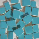 Handpainted*~TURQUOISE  FILLERS~*50 Mosaic Tiles D1079