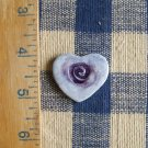 Mosaic Tiles ~HEART WITH SPIRAL PENDANT~ 1 HM Clay Kiln