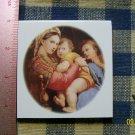 Mosaic Tiles *~MADONNA & CHILD*~1 LG. HM Focal