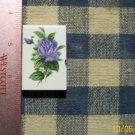 Mosaic Tiles*~ELEGANT BLUE ROSE * 1 Sq HM Kiln Fired