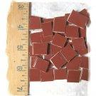 *~DARK TERRA COTTA FILLERS*~  50+ HC Mosaic Tiles