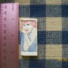 Mosaic Tiles~*MOD BLUE DRESS GIRL*~1 HM Clay Kiln Fired