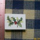 Mosaic Tiles *~CHRISTMAS PLANT~1 HM Kiln Fired Focal