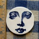 Mosaic Tiles ~*LADIES FACE*~ 1 HM Clay Kiln Fired