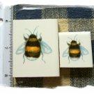Mosaic Tiles *~ADORABLE BUMBLE BEES*~ 2 HM Kiln Fired