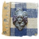 Sooty Grey *~GRAPE GODDESS~* 1 Pendant - Mosaic Tiles
