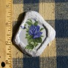 Mosaic Tiles ~*BLUE ROSE PENDANT*~ 1 HM Clay Kiln