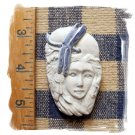 *~DRAGONFLY LADY FACE~* 1  Pendant - Mosaic Tiles