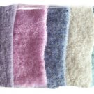 ~HAND FELTED WOOL~ 5 Pretty Pastels Penny Rug Hooking