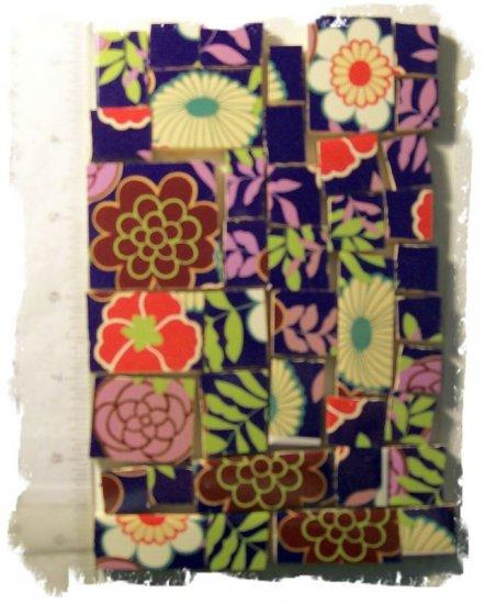 ~BiG BoLd & FuNkY FlOwErS ~~40+ Mosaic Tiles