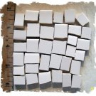 ~Must have~*~BRIGHT  WHITE  FILLERS~* 50+  Mosaic Tiles