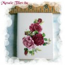 ~*Elegant*~Shaded ROSE BOUQUET*~ Focal Mosaic Tiles