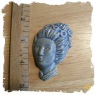 Mosaic Tiles ~*Lt  Blue Stone~*ELEGANT LADY*~1 HM Clay
