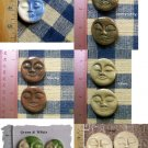 Unique Assortment ~*HM MOON FACES*~ Mosaic Tiles