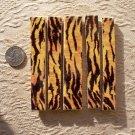 *~JUNGLE SHARP SKINS~*  5 Cut-2-Fit Mosaic Tiles