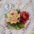 Mosaic Tiles  *~YELLOW & RED ROSE BOUQUET~* HM CTR