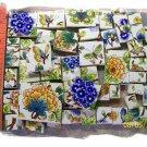 ~*Gorgeous~*ORIENTAL CHINTZ*~ 50+ Asian Mosaic Tiles