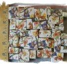 ON SALE  ~*BEAUTIFUL IRIS CHINTZ~* 50+ Mosaic Tiles
