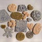 Mosaic Tiles~TREASURE CHEST #1+~ Kiln Fired HM Clay