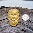 HM Pottery Ceramic *~AMBER SPIRIT MASK LADY~* Tile