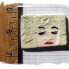 ~Unique ~LEAVES LADY*~ 1 Mosaic Tiles Focals