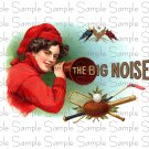 Vintage Big Noise Digital Cigar Art Ephemera Scrapbooking Altered Art
