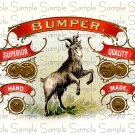 Bumper Digital Vintage Cigar Art Ephemera Scrapbooking Altered Art