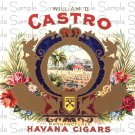 Castro Digital Vintage Cigar Art Ephemera Scrapbooking Altered Art
