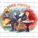 Lord Puffer Vintage Digital Cigar Box Art Ephemera Scrapbooking Altered Art Decoupage