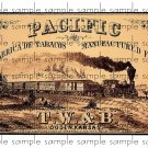 Pacific Vintage Digital Cigar Box Art Ephemera Scrapbooking Altered Art Decoupage