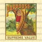 Pappose Vintage Digital Cigar Box Art Ephemera Scrapbooking Altered Art Decoupage