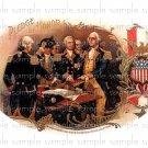 Pledge of Honor Vintage Digital Cigar Box Art Ephemera Scrapbooking Altered Art Decoupage