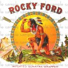 Rocky Ford Vintage Digital Cigar Box Art Ephemera Scrapbooking Altered Art Decoupage