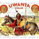 Uwanta Vintage Digital Cigar Box Art Ephemera Scrapbooking Altered Art Decoupage