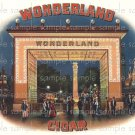 Wonderland Cigar Box Art Ephemera Scrapbooking Altered Art Decoupage