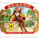 Segada Cigar Box Art Ephemera Scrapbooking Altered Art Decoupage
