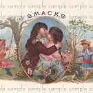 Smacks Vintage Digital Cigar Box Art Ephemera Scrapbooking Altered Art Decoupage