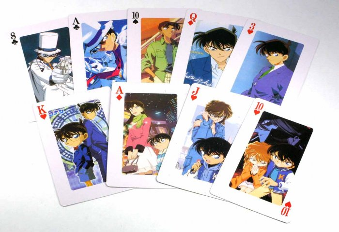A Deck Of Full Set Detective Conan Poker Playing Card