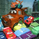 15 Disney Pixar The Cars McQueen,Sally,Luigi, Mater, Ramone,Sheriff  Figure Ref#T001