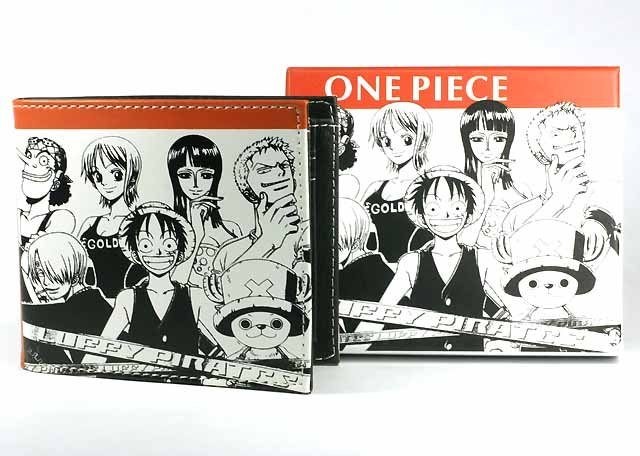 Japan Anime One Piece Luffy Chopper Wallet & Wrist Band Set Ref#OP001