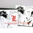 Japan Anime Death Note Light Yagami Wallet & L Wrist Band Set Ref#DN001