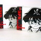 Japan Anime Detective Conan Shinichi Privates White Wallet Ref#DCW003