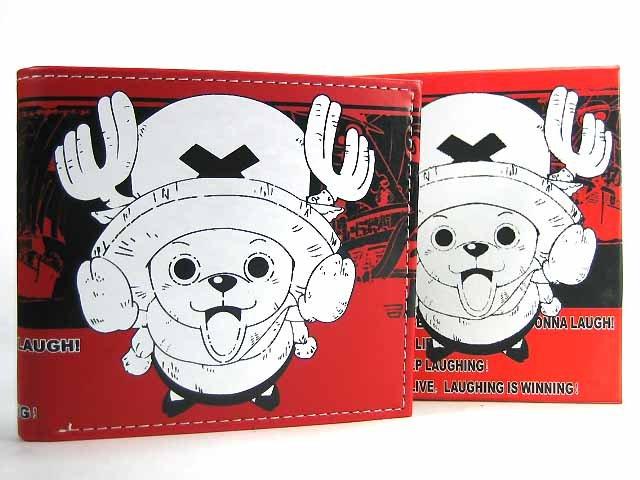 Japan Anime One Piece Chopper Wallet & Wrist Band Set Ref#OP002