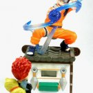 日本Japan Anime Naruto Gaara in Sand Storm Digital Clock & Naruto Uzumaki Figure SetRef#NC001
